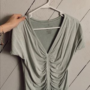 American Eagle Sinched T